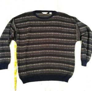 Taylor and Henry Vintage Striped Sweater Sz XXL !